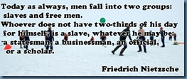 Nietzsche freedom